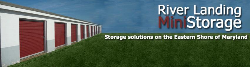 River Landing Mini Storage Denton Md Home
